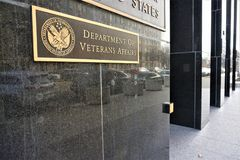 Ministerie die van Veteranenzaken Washington inbouwen royalty-vrije stock afbeeldingen