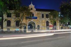 Ministerie van Cultuur en Sporten van Hanoi, Vietnam stock foto's