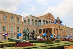 Ministerie van Defensie in Bangkok, Thailand Stock Foto's