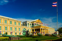Ministerie van Defensie Buillding, Bangkok in Thailand Stock Foto's