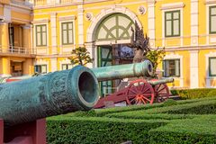 Ministerie van Defensie die Bangkok en museum bouwen Royalty-vrije Stock Afbeelding