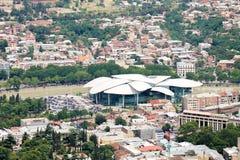 Ministerie van justitie en het Burgerlijke Registratieagentschap, Tbilisi Stock Foto