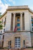 Ministerie van Rechtvaardigheid in Washington DC de V.S. royalty-vrije stock foto's