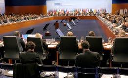 23. ministerieller Rat OSZE in Hamburg Stockfotografie
