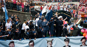 Ministerio de Defensa, orgullo alegre 2011 Fotografía de archivo libre de regalías