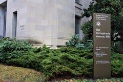Ministerio de Justicia el Washington DC fotografía de archivo