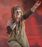 Ministerium Al Jourgensen leben im industriellen Metall des Konzerts 2017 Stockfotos