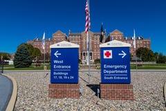 Ministerium für Veteranenangelegenheitens-Gesundheitszentrum stockfotos