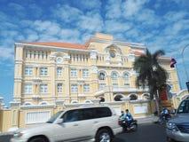 Ministerium von Beiträgen und von Telekommunikation in Phnom Penh, Kambodscha stockfotos