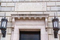 Ministero del commercio la costruzione in Washington, DC Fotografia Stock Libera da Diritti