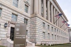 Ministero del commercio la costruzione in Washington, DC Immagini Stock Libere da Diritti