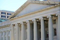 Ministero del Tesoro degli Stati Uniti Immagini Stock