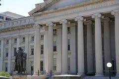 Ministero del Tesoro 2 degli Stati Uniti Fotografia Stock Libera da Diritti