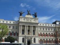 Ministero della costruzione di agricoltura a Madrid, Spagna Immagine Stock Libera da Diritti