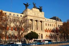 Ministero della costruzione di agricoltura, Madrid, Spagna Fotografie Stock