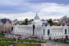 Ministero di agricoltura e di alimento Palazzo dei coltivatori a Kazan, Russia Fotografie Stock