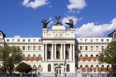 Ministero di agricoltura a Madrid Fotografia Stock
