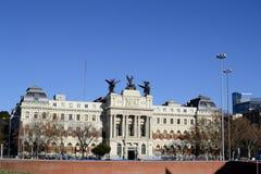 Ministero di agricoltura, Madrid, Spagna Immagine Stock