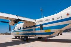 Ministero spagnolo della CASA C-212 di agricoltura Immagini Stock