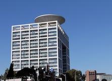 Ministerstwo obrona Izrael na niebieskiego nieba tle Fotografia Stock
