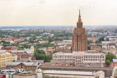Ministerstwo Rolnictwa budynek, Ryski Obraz Royalty Free