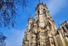 ministra katedralny wierza zachodni York Obraz Stock