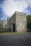 Ministra opactwo i Gatehouse muzeum Zdjęcie Royalty Free
