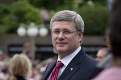 Ministre Canada de harpiste de Stephen premier Photographie stock