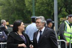 Ministre d'affaires étrangères du Portugal Photographie stock libre de droits