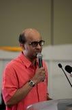 Ministre de Singapour des finances et ministre ministre Tharman Shanmugaratnam Photographie stock libre de droits
