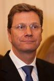 Ministre des affaires étrangères Guido Westerwelle d'Allemand Photo libre de droits