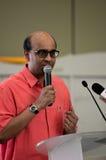 Ministre du conseil de Singapour des finances et ministre ministre Tharman Shanmugaratnam Photo libre de droits