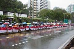 Ministre ex funèbre Singapore de Lee Kuan Yew premier Photos libres de droits