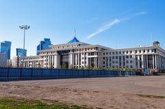 Ministério de defesa em Astana kazakhstan Imagens de Stock