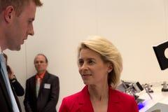 Ministro da Defesa de Alemanha Fotos de Stock