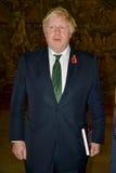 Ministro de Asuntos Exteriores Boris Johnson de británicos en visita oficial a Serbia foto de archivo