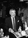 MINISTRO DE ASUNTOS EXTERIORES DEL ` S DE DINAMARCA UFFE 1982-1993 ELLEMANN JENSEN Foto de archivo