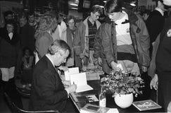 MINISTRO DE ASUNTOS EXTERIORES DEL ` S DE DINAMARCA UFFE 1982-1993 ELLEMANN JENSEN Fotografía de archivo