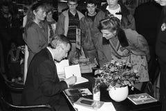MINISTRO DE ASUNTOS EXTERIORES DEL ` S DE DINAMARCA UFFE 1982-1993 ELLEMANN JENSEN Foto de archivo libre de regalías