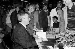 MINISTRO DE ASUNTOS EXTERIORES DEL ` S DE DINAMARCA UFFE 1982-1993 ELLEMANN JENSEN Fotos de archivo