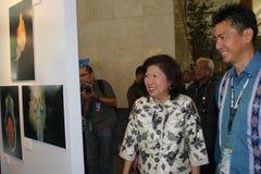 Ministro del turismo y de la economía creativa Foto de archivo libre de regalías