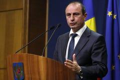 Ministro dell'agricoltura rumeno e sviluppo rurale Achim Irimescu Fotografia Stock Libera da Diritti