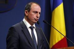 Ministro dell'agricoltura rumeno e sviluppo rurale Achim Irimescu Immagine Stock Libera da Diritti