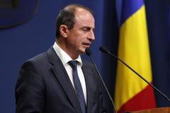 Ministro dell'agricoltura rumeno e sviluppo rurale Achim Irimescu Fotografia Stock