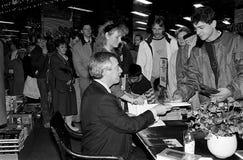 MINISTRO DOS NEGÓCIOS ESTRANGEIROS DO ` S DE DINAMARCA UFFE 1982-1993 ELLEMANN JENSEN Imagem de Stock Royalty Free