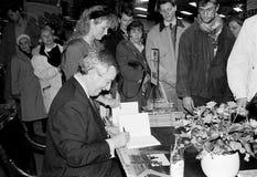 MINISTRO DOS NEGÓCIOS ESTRANGEIROS DO ` S DE DINAMARCA UFFE 1982-1993 ELLEMANN JENSEN Fotografia de Stock