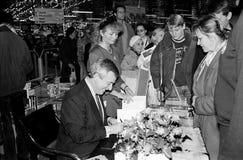 MINISTRO DOS NEGÓCIOS ESTRANGEIROS DO ` S DE DINAMARCA UFFE 1982-1993 ELLEMANN JENSEN Imagens de Stock