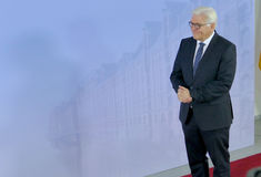 Ministro Dr Frank-Walter Steinmeier Fotografía de archivo libre de regalías