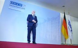Ministro Dr Frank-Walter Steinmeier Imágenes de archivo libres de regalías