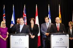 Ministro Jason Kenney del empleo de Canadá Imagen de archivo libre de regalías